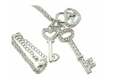 Keys Charm Necklace
