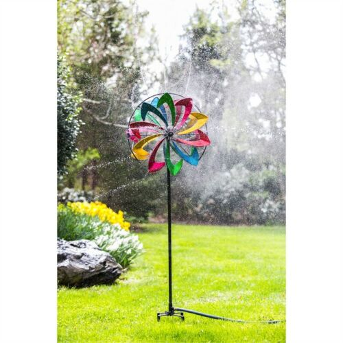 Flower Hydro Wind Spinner Kinetic 75""