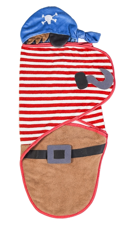 Pirate Baby Swaddle Towel