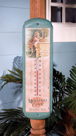 Thermometer Vintage Mermaid