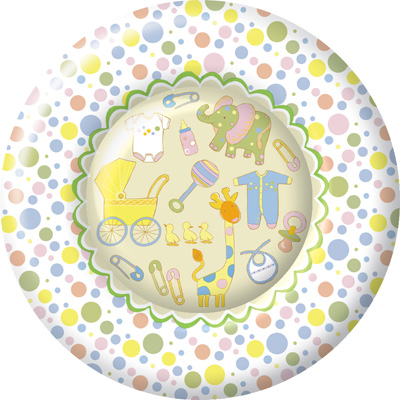 Baby Shower Birthday Party Plate Set 32