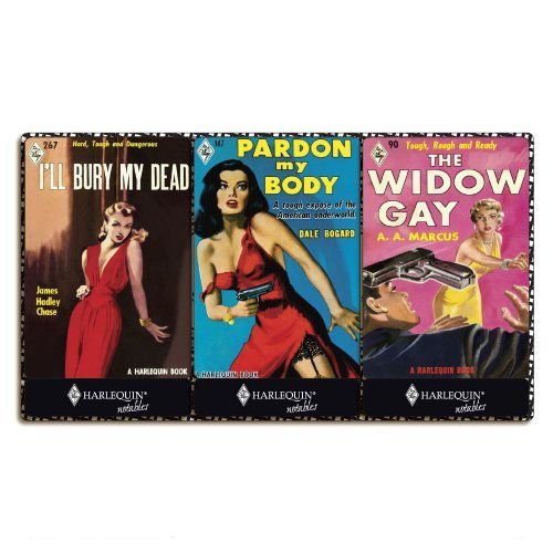 Harlequin Vintage Sirens matchbook Notepad Set