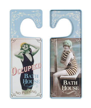 Sign - Vintage Bath House
