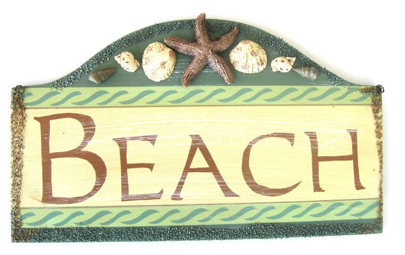 Sign - Wood Beach