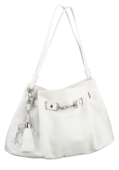 Bridal Purse Tote with Bride Key Fob