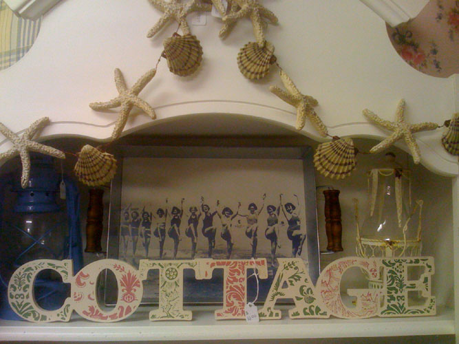 Cottage Chic Letters Sign