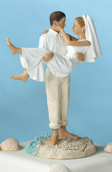 Cake Topper - Beach Couple