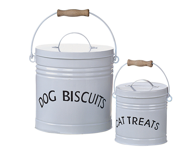 Dog Biscuits Tin