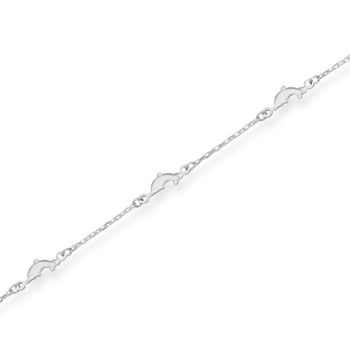 Dolphin Link Anklet