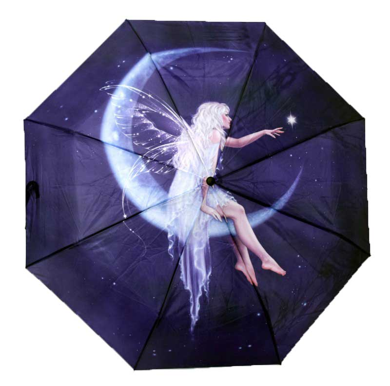 Fairy Crescent Moon Umbrella