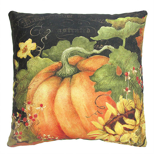 Pumpkin Outdoor Pillow 18""