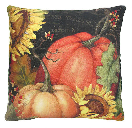Pumpkins Outdoor Pillow 18""