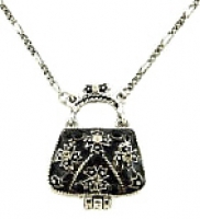 Purse Locket Necklace