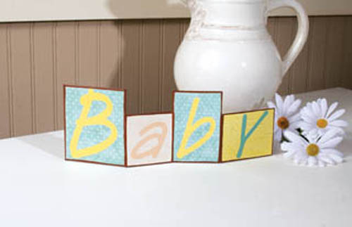 Baby Table Topper Sign