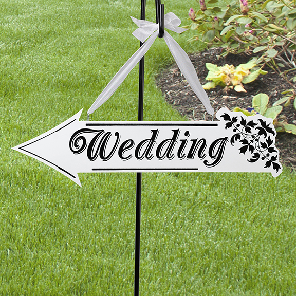 Wedding sign arrow double sided 1600 cottage home decor wedding sign arrow double sided junglespirit Image collections