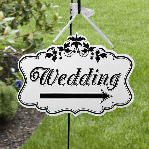 Wedding Sign - Double Sided