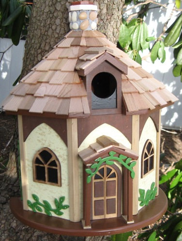 Bird House - Whimsical Cottage
